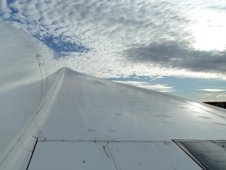 Flügel der Concorde