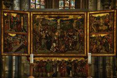Flügelaltar, im Dom zu Halberstadt