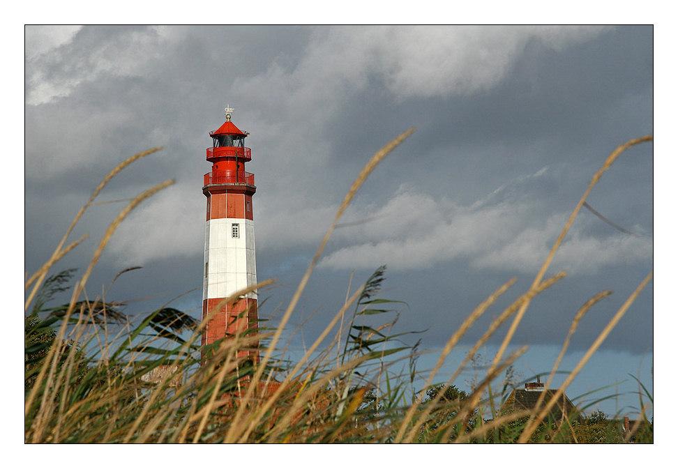 Flügger Leuchtturm auf der Insel Fehmarn