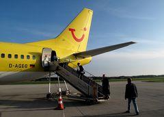 Flug ab Memmingen: Beim zweiten Versuch hat es tatsächlich geklappt!