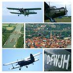 Flug mit der Antonov 2