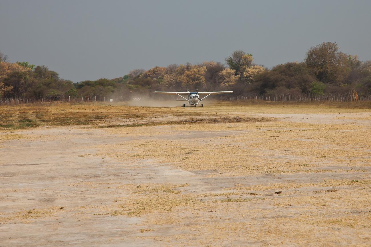 Flug über das Delta
