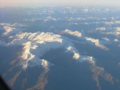 Flug über die Alpen - Glocknergruppe