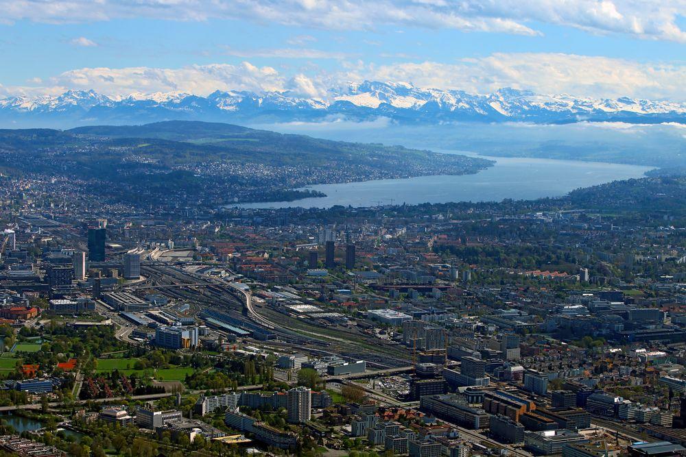 Flug Zürich-Säntis-Bodensee-Konstanz