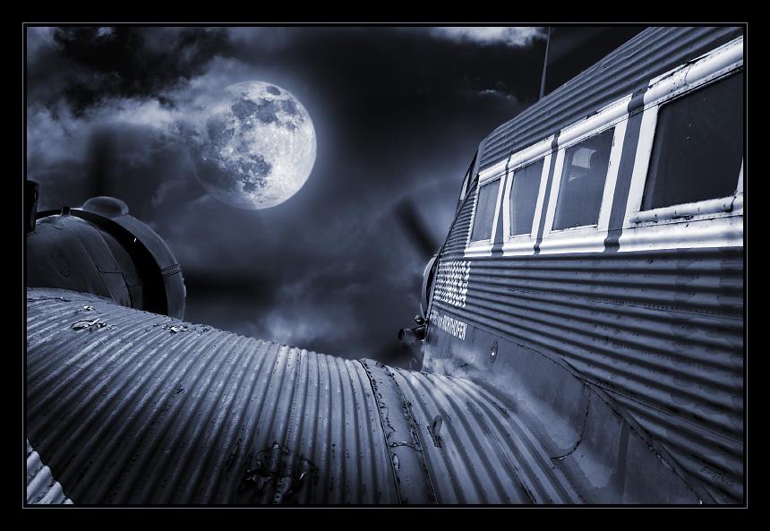 Flug zum Mond