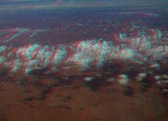 Flugbild 3D Cairns -> Ayers Rock