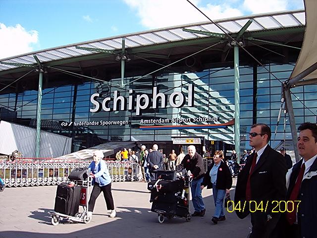 Flughafen Amsterdam - Schiphol