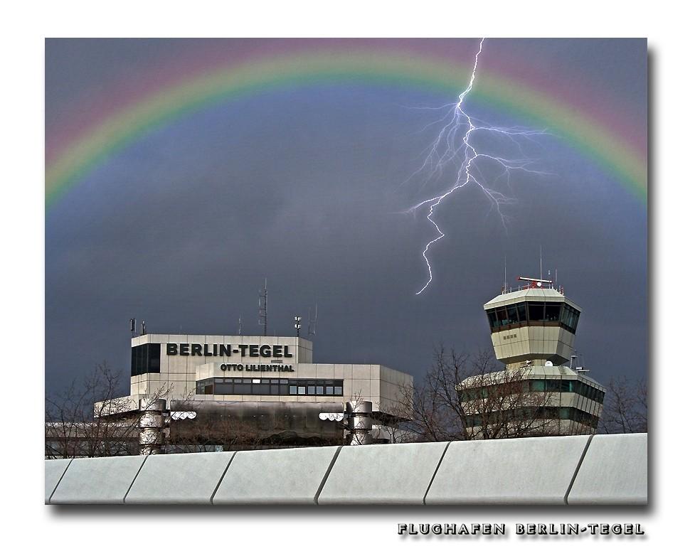 Flughafen Berlin-Tegel ...