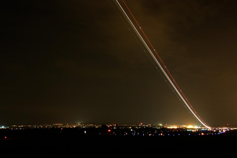 Flughafen - Flugzeugstart 1