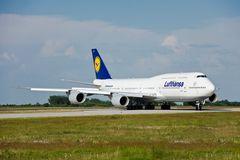 """Flughafen Halle-Leipzig / Boing 747-8 """"Brandenburg"""""""