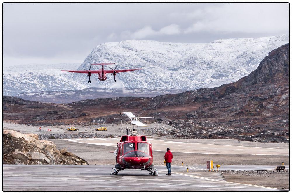Flughafen Ilulissat - Westgrönland