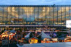 Flughafen München Airport Center Weihnachtsmarkt 2014 ............