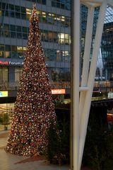 Flughafen München Airport Center Weihnachtsmarkt 2014 ....