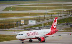 Flughafen München (MUC) Air Berlin