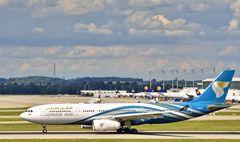 Flughafen München Oman Air