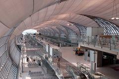 Flughafen Suvarnabhumi in Bangkok