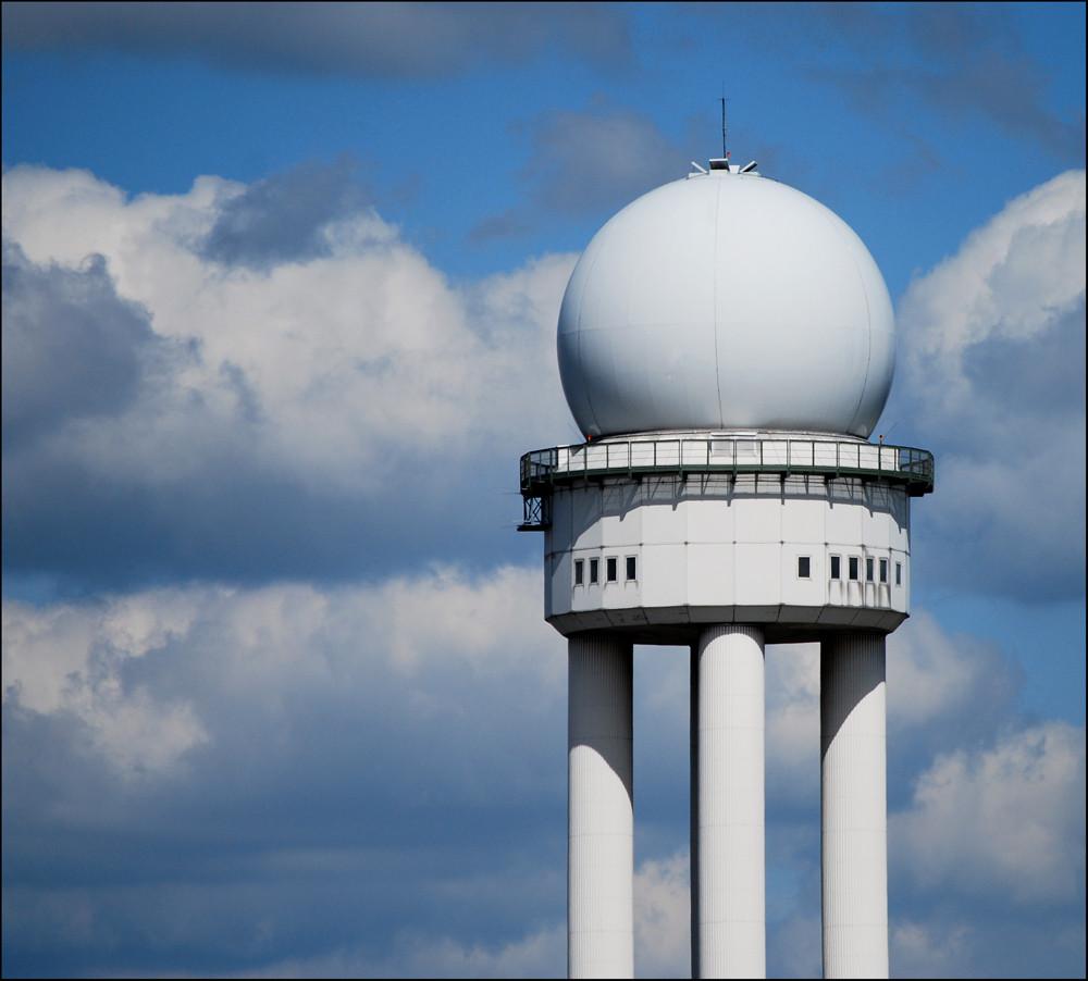 """"""" Flughafen Tempelhof """" - Radarturm  ( 5 )"""