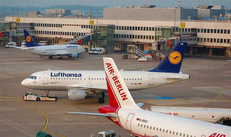 Flughafenbesuch  Düsseldorf