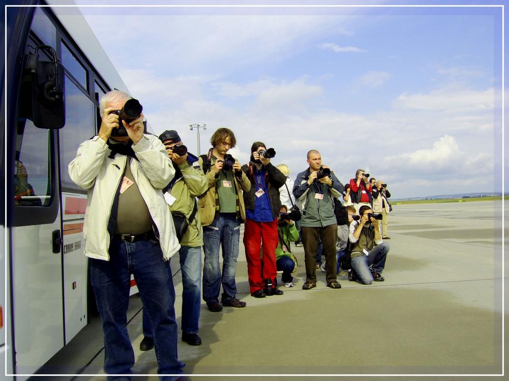 Flughafentour in Erfurt