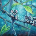 Flughörnchen im Zauberwald