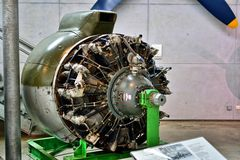 Flugmotor BMW 803