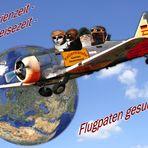 Flugpaten gesucht!