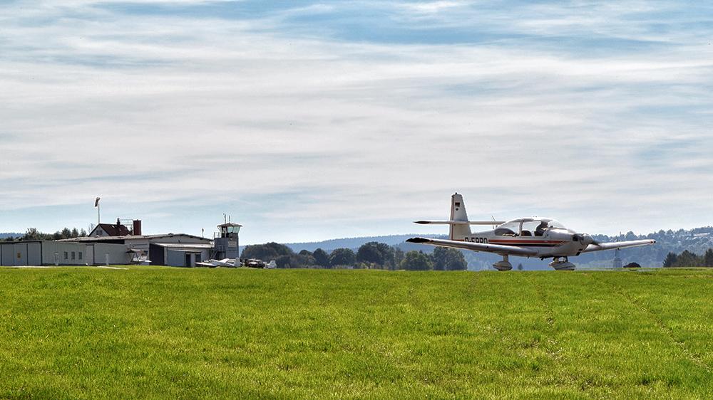 Flugplatz Auerbach II