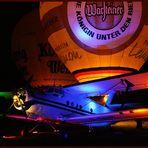 Flugplatzfest Oeventrop 15./16. September Abschluss Ballonglühen