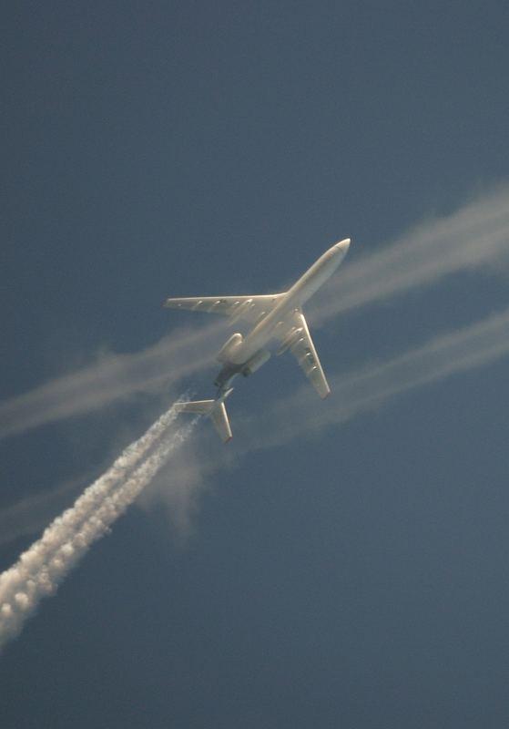 Flugzeug am 9.1.2006