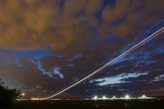 Flugzeug-Himmelfahrt