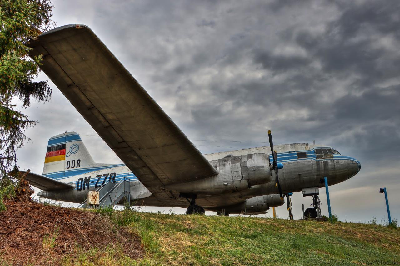 Flugzeug IL-14 Iljuschin DM-ZZB