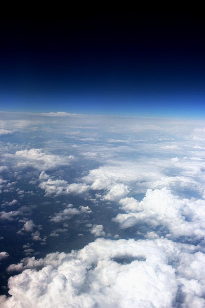 Flugzeugaussicht