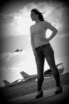 Flugzeuge im Bauch
