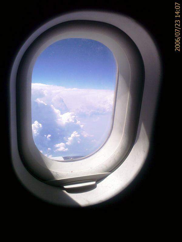 Flugzeugfenster Foto & Bild   handycam Bilder auf fotocommunity