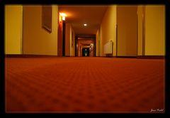 Flur im Hotel