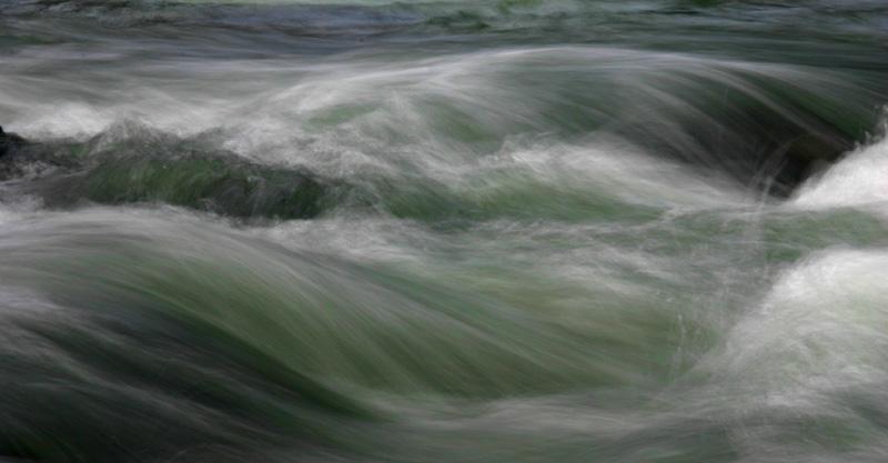 Fluss - abstrakt