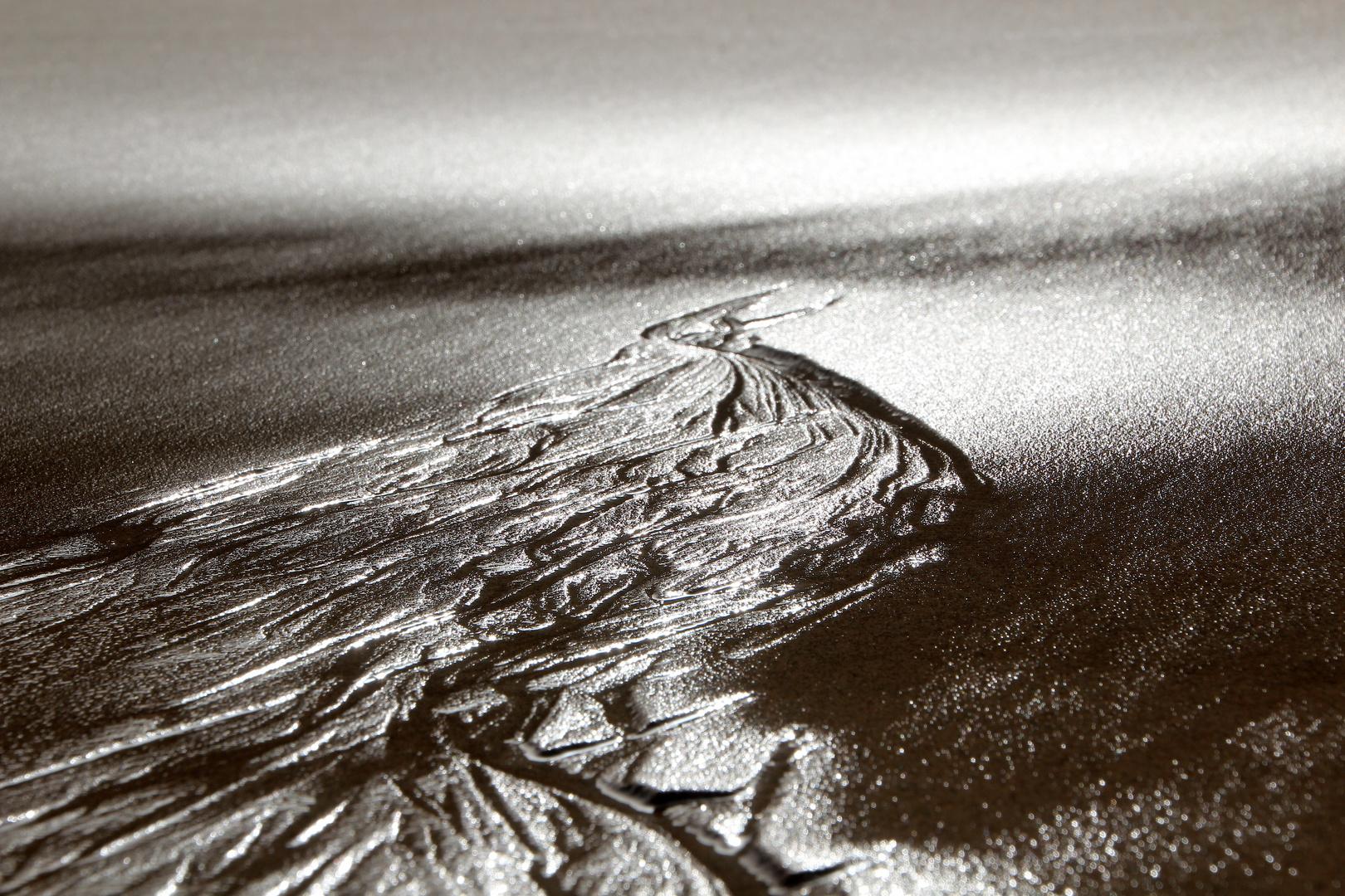 Fluss der Zeit aus Licht & Schatten ... ´15