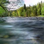 Fluss Richtung
