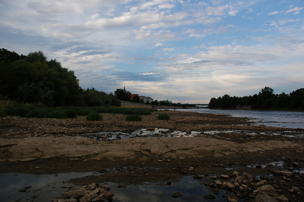 Fluss-stillstand