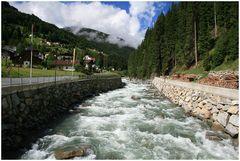 Fluss Trisanna in See im Paznauntal...