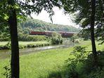 Flussabwärts