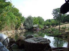 Flußfahrt im Zoo Hannover