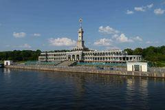 Flusshafen Moskau