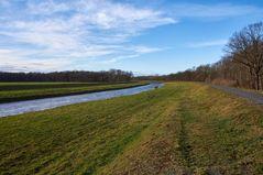 ...Flusslandschaft in der Leipziger Aue...