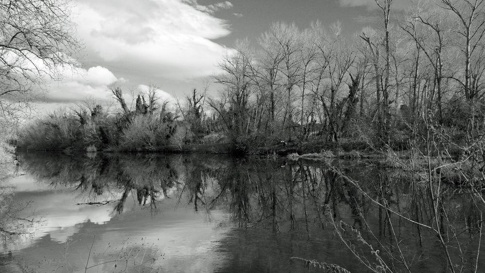 Fluvia Stausee