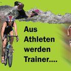 Flyer (vorderseite) für anstehenden Trainerlehrgang - Triathlon