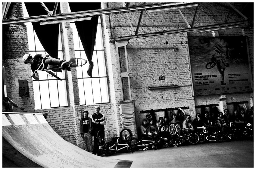 flying biker -