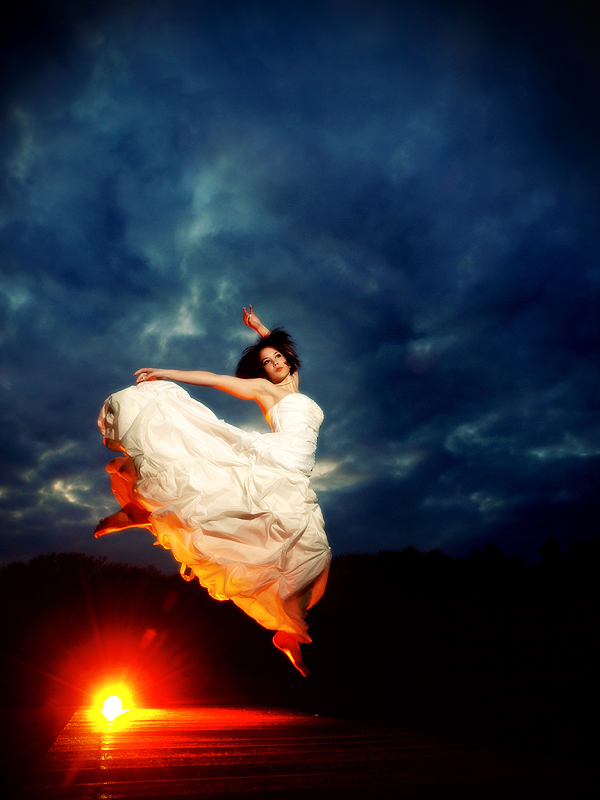 [flying bride]