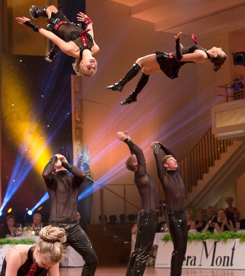 Flying Girls beim Rock`n`Roll Dream Team