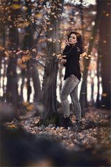 * flying leaves *